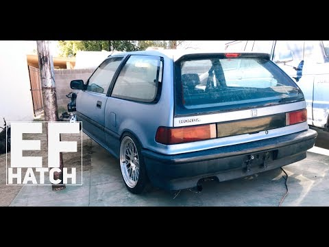 Honda Civic EF Hatch - H22 VTEC Swap