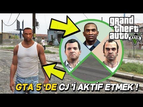 GTA 5 'DE GİZLİ OLAN CJ 'İ SEÇMEK ! GTA 5 GİZEMLERİ MOD