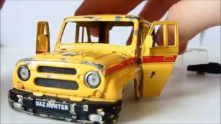 Тюнинг масштабных моделей машин #9 [УАЗ ХАНТЕР](Начал Новый проект УАЗик Хантер !!, 2016-05-15T21:02:45.000Z)