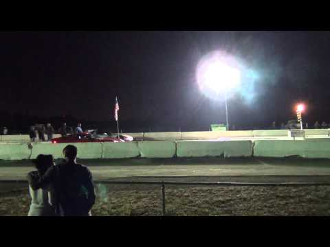 C5 vs C6 Corvette at County Line Raceway Test and Tune 03-08-2014
