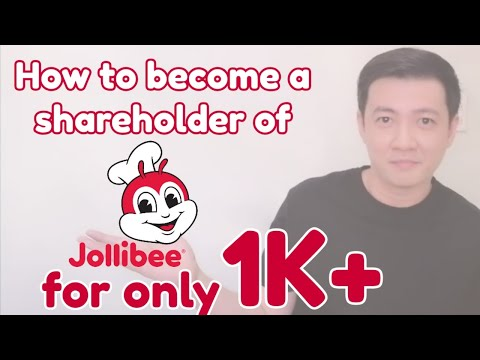 How to become a shareholder of Jollibee?