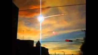 Метеорит над Кубой