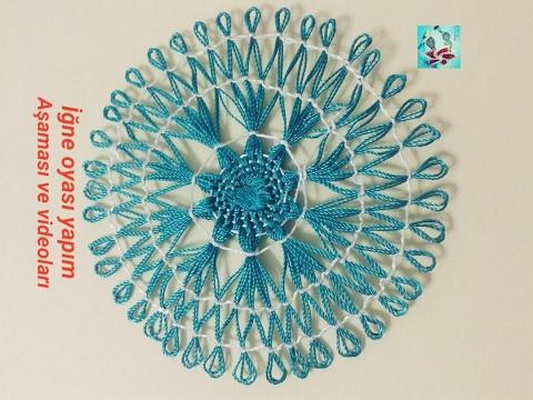 How To Learn Needle Lace Fan Technigue