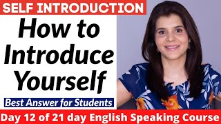 How to Introduce Yourself in English   Self Introduction for School/College Students   ChetChat screenshot 2