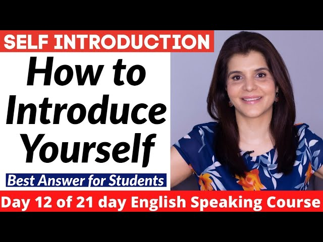 College Self Introduction Self Introduction In English For College Students Introduce Yourself Golectures Online Lectures