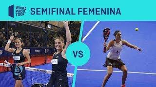 Resumen semifinal femenina Salazar/Sánchez Vs Alayeto/Brea - Cervezas Victoria Marbella Master