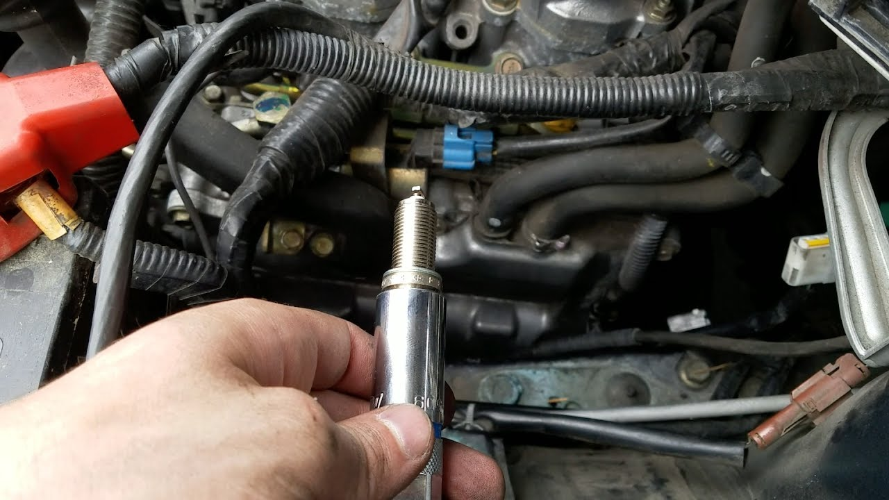 replace  forester xt spark plugs youtube