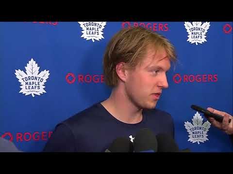 Maple Leafs Development Camp: Rasmus Sandin - June 26, 2018