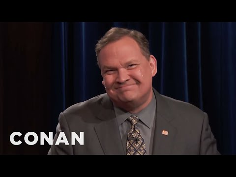 Andy Pretends To Care About IHOB & Ariana Grande  - CONAN on TBS