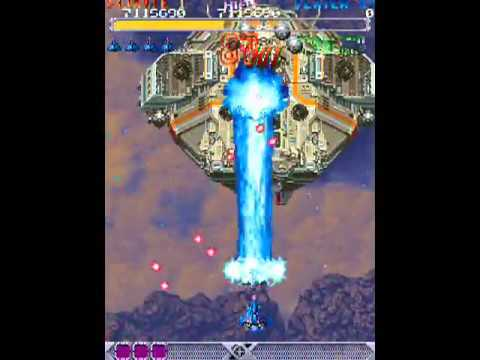 DoDonPachi (Arcade) - Gameplay (1 crédito) (RESUBIDO)