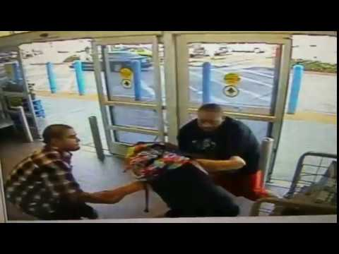 Cctv footage Undercover Asset protection Walmart *UNFILTERED*