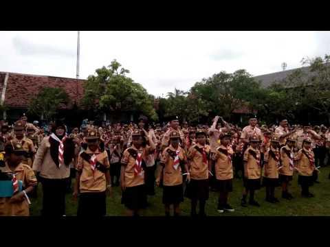 Senam goyang bebek pesta siaga Pemalang 2017