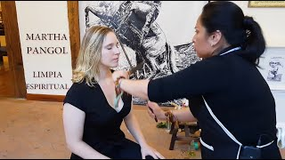 Download Mp3 Asmr Relaxing Martha Pangol - Limpia Massage, Spiritual Cleansing, Indian Barber