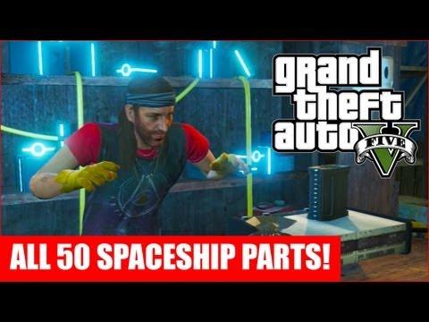 GTA 5 - All 50 Spaceship Parts Location Guide (GTA V)