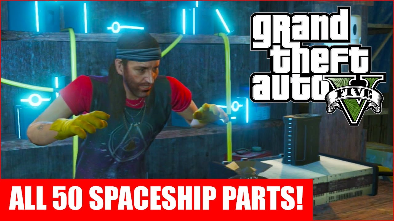 gta 5 all 50 spaceship parts location guide gta v youtube rh youtube com GTA V Cars Gta 6