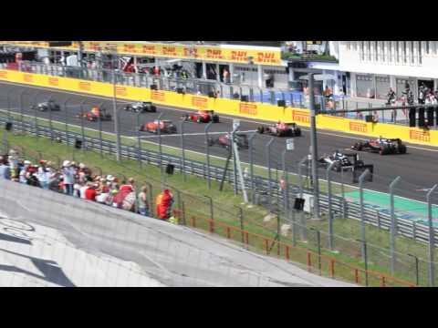 F1 2016 Hungaroring rajt