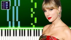 Taylor Swift - betty (Piano Tutorial Easy) @Piano Sheets By [MHD] @Slow Easy Piano By [MHD]