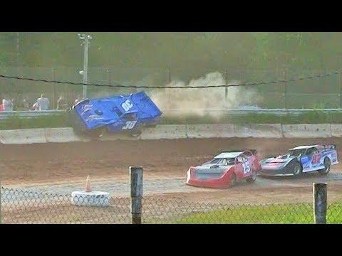 Late Model Heat 2 at Thunderbird Raceway on 6-3-17