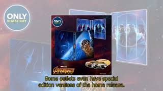 Avengers Infinity War Blu-ray, DVD and digital download release dates REVEALED