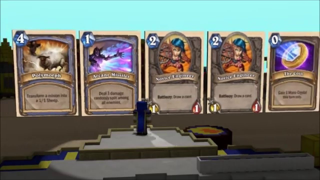 Impersonating Every Hearthstone Minion ... - YouTube