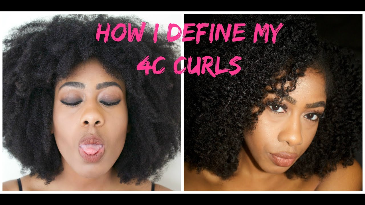Quick Braidout on 4C Hair (Curl Definition)  YouTube - 4B Hairstyles
