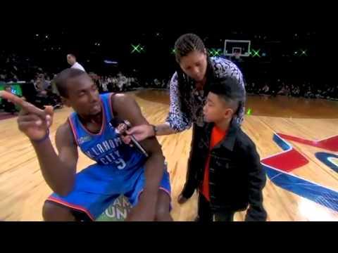 (NBA All Star 2011)- Serge Ibaka Saves Little Kid