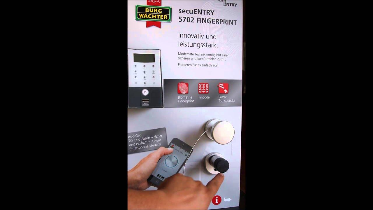 Secuentry Von Burgwachter Das Elektronische Turschloss Youtube