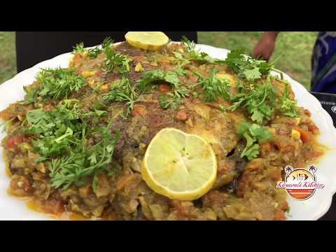 Karavali Kitchen E15 - Pomfret  Green Masala Fry And Bangude Fry