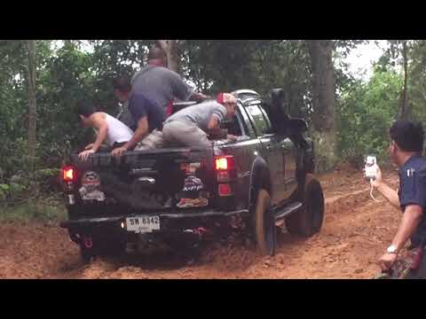 Funny offroad Ford Ranger 4x4