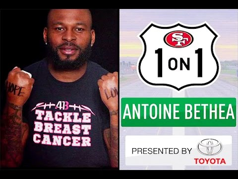 Antoine Bethea Shares Connection to Breast Cancer Awareness Month
