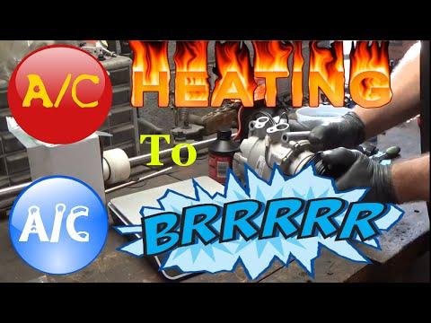 No AC complete repair - Honda Civic AC compressor replacement