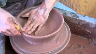 Throwing a Serving Bowl