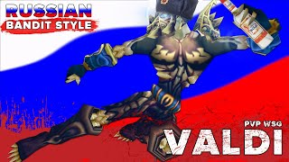 VALDI 💀 Russian Bandit Style: WOW CLASSIC ROGUE PVP