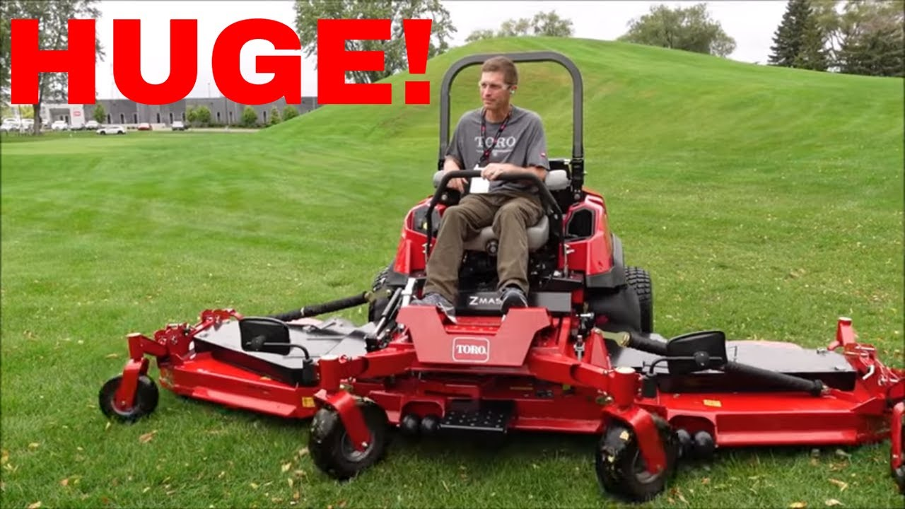 Zero Turn Mower with a 12 FOOT DECK and DRIVES 17 MPH