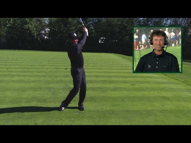 Wayne Gretzky's swing is analyzed at AT&T Pebble Beach