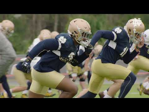@NDFootball Citrus Bowl Practice (12.29.17)