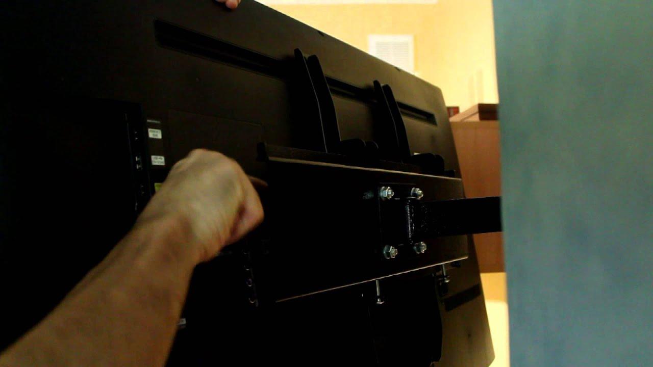 Кронштейн бытовой кб-01-69 черный. Код: 66649. 1 отзыв. Максимальный размер экрана телевизора 60