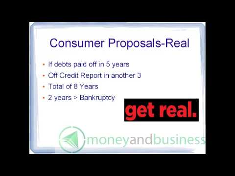 Bankruptcy in Canada Video 4: Should You Go Bankrupt? Comparing Consumer Proposals and Your Job