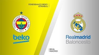 Fenerbahce Beko Istanbul - Real Madrid Highlights | Turkish Airlines EuroLeague, RS Round 25