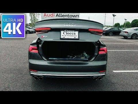 2018 AUDI S5 SPORTBACK - IN DEPTH WALKAROUND STARTUP EXTERIOR INTERIOR & TECH