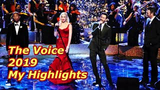 The Voice 2019 - My Highlights
