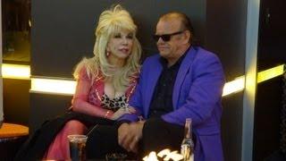 Las Vegas Celebrities Busking Cop Car review Shark Tank & Jack Nicholson Celebrity Fun Video
