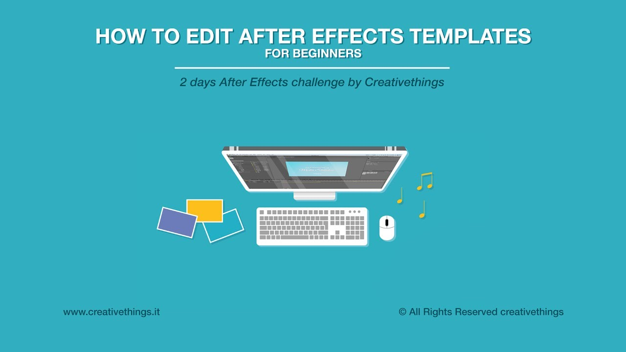 How To Edit After Effects Templates Free After Effects Course For - After effects template editing