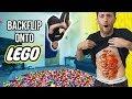 BACKFLIP ONTO LEGO CHALLENGE Painful mp3