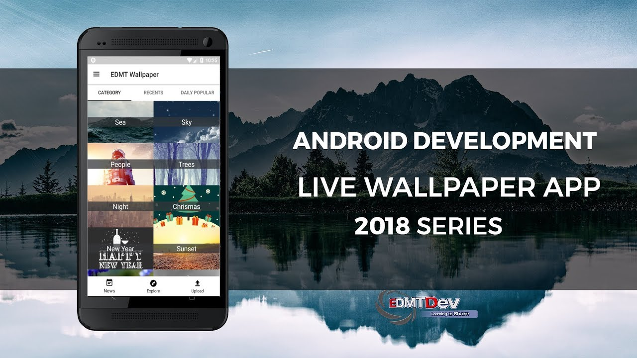 Android Live Wallpapaer Part 8 Share To Facebook Edmt Dev