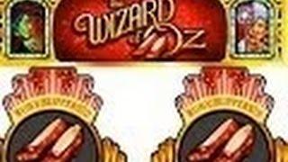 Ruby Slippers 2 Slot Machine Bonus- live play-sdguy-ken-Aria