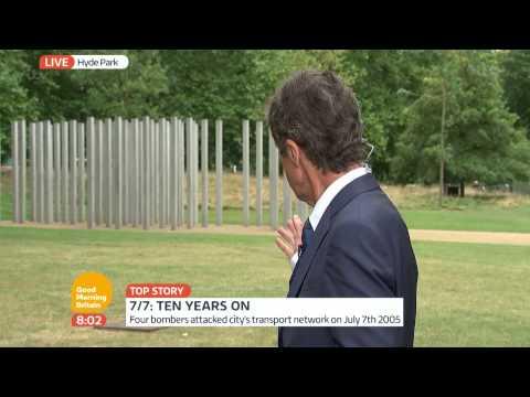 7/7 Bombings Memorial Services | Good Morning Britain