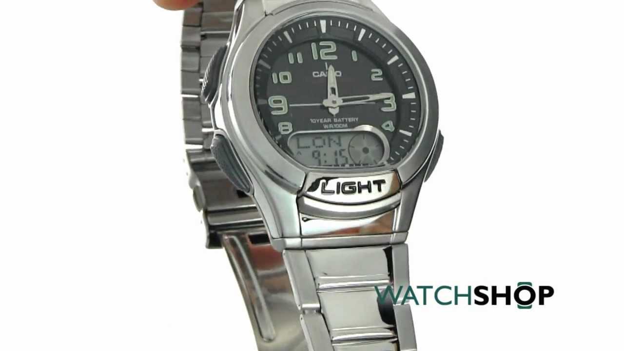 Mts Reloj Garantía Casio® Acero Nuevo Original Tele Memo 100 j5LcAq34R