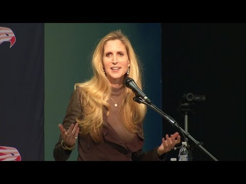 Ann Coulter talks immigration, Trump in Mountain View
