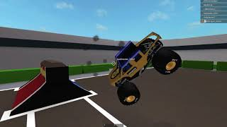 Roblox Monster Jam TTB (THE TOUR BEGINS) Event-Highlights #2 (El Paso, TX)